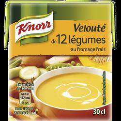 Soupe 12 légumes fromage frais KNORR, 300ml