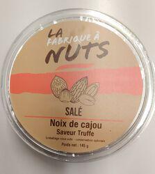 NOIX DE CAJOU TRUFFE SALE 145G - LA FABRIQUE A NUTS