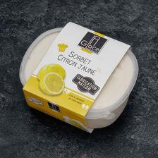 Sorbet citron jaune congelé, 1 pièce, 600g