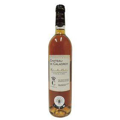 MUSCAT DE RIVESALTES AMBRÉ, Vin doux naturel, CHÂTEAU DE CALADROY 750ML