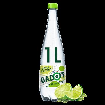 Badoit Eau Gazeuse Badoit Zest Aromatisée Citron Vert 1l