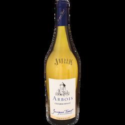 Arbois blanc Chardonnay 2016, bouteille de 75cl