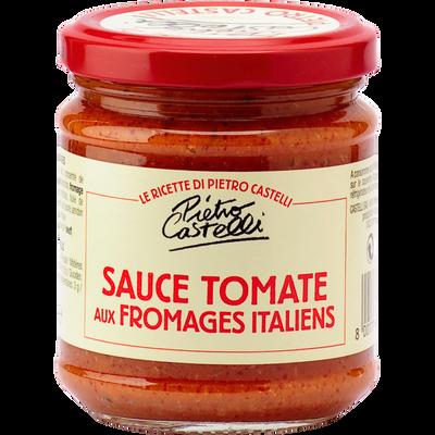 Sauce tomate et fromages italiens PIETRO CASTELLI 190g