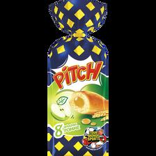 Pitch fourrés pomme PASQUIER, 8 pièces, 310g