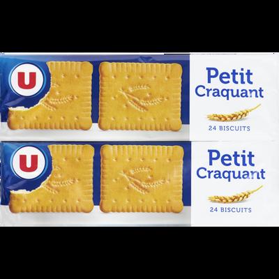 Biscuit craquant U, 2 paquets de 150g, 300g