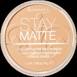 Poudre matifiante stay matte 006 warm beige RIMMEL NU, 14g