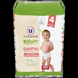 Culottes bébé tailles 4 8-15kg U TOUT PETITS NATURE, X22