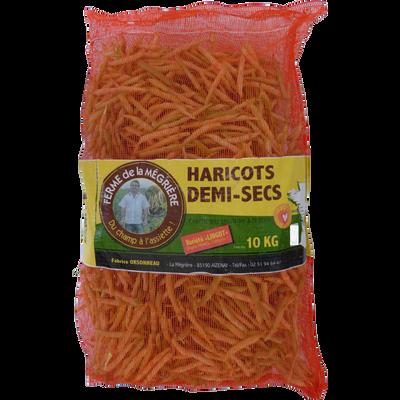 Haricot 1/2 sec lingot, Vendée, sac 10kg