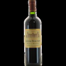 Vin rouge AOP Haut Médoc château Beaumont,  6x75cl