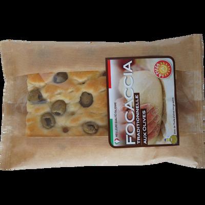 Focaccia aux olives flow PIZZA+1, 170g