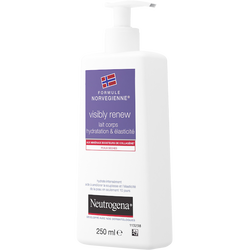 Lait corps hydratation élasticité visibly renew NEUTROGENA, 250ml