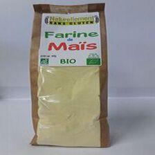 Farine de maïs Bio NATURELLEMENT SANS GLUTEN 400g