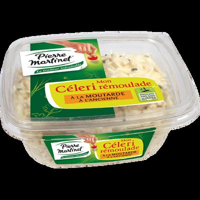 Céleri rémoulade à la moutarde à l'ancienne, PIERRE MARTINET, 300g