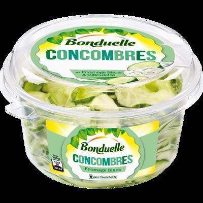 Salade de concombres au fromage blanc BONDUELLE, 180g