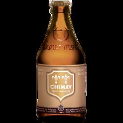 Bière dorée Abbaye Pères Trappistes CHIMAY, 4,8°, 33cl