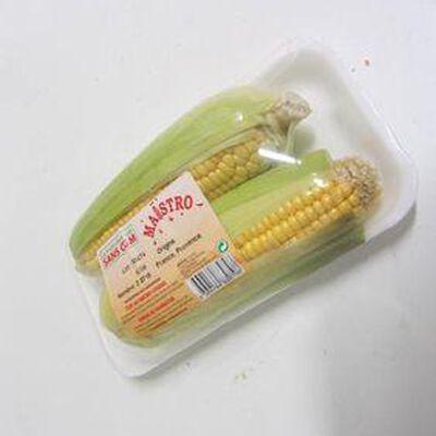 Maïs frais 2 épis barquette 400 grs - Maroc - cat 1 -