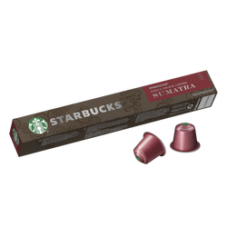 STARBUCKS by nespresso sumatra 10 capsules 55g