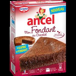 Préparation pour gâteau Mon fondant au chocolat ANCEL, étui de 300g