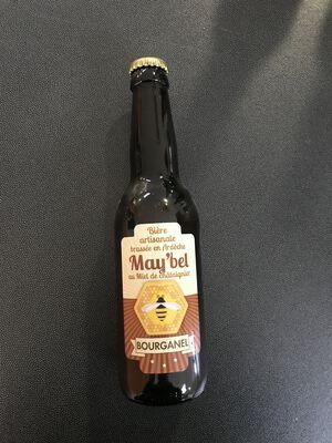 Bière bourganel au miel de l'Ardèche 33cl