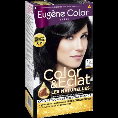 Coloration crème permanente EUGENE COLOR, Tania, noir n°15