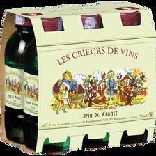 Vin blanc de France Crieur, 6 bouteilles de 25cl