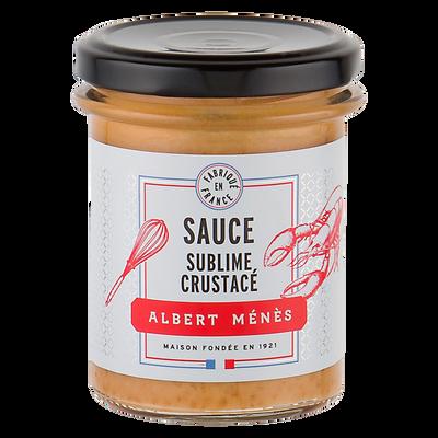 Sauce sublime aux crustacés ALBERT MENES, 180g