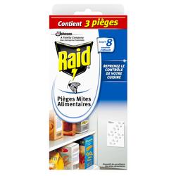Pièges anti-mites alimentaires RAID, x2