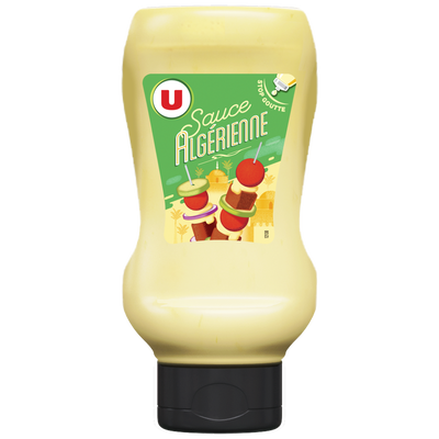 Sauce algérienne U, 250g 250ml