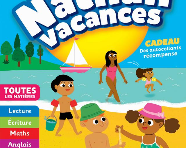 Gerblé Vacances Maternelle Ms Vers Gs 4/5 Ans Nathan