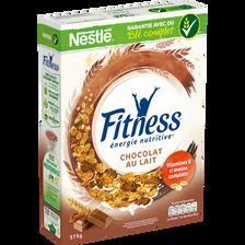 Céréales chocolat au lait FITNESS, paquet de 375g