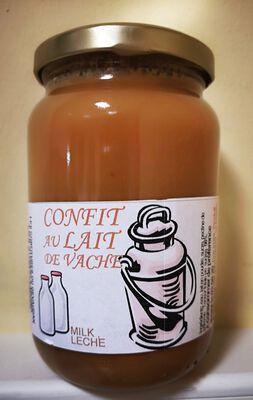 Confit au lait de vache, Les confitures du Gévaudan, 450g