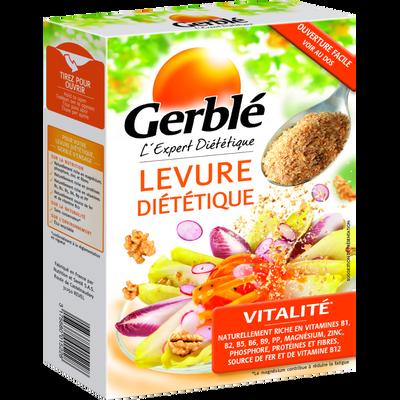 Paillettes de malt et levure diététique GERBLE, étui de 150g