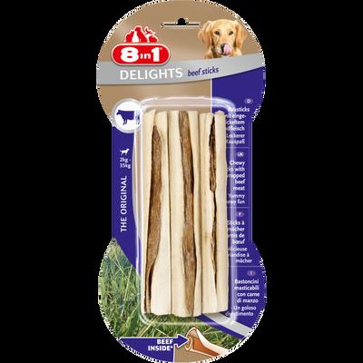 Delights beef sticks, 8 IN 1, 75g