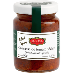 Caviar tomates séchées relevées ERIC BUR, 90g