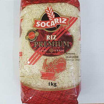 Riz long grain premium, SOCARIZ, le paquet de 1Kg