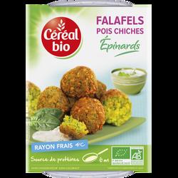 Falafels aux épinards et épices CEREAL BIO, 180g