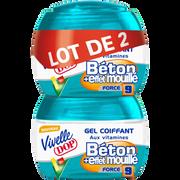 Dop Gel Béton Mouillé Vivelle Dop, 2 Pots De 150ml