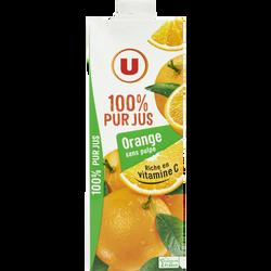 Pur jus d'orange U, 1l