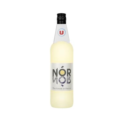 """Vin d'Espagne blanc """"nor"""" U, 75cl"""