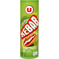 Tuiles goût kebab U, boîte de 170g