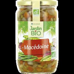 Macedoine JARDIN BIO, bocal en verre de 660g
