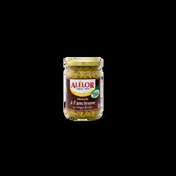 Moutarde à l'ancienne BIO ALELOR, 200g