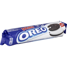 Biscuits OREO double crème Lu, paquet de 157g