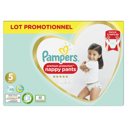 Couches premium protection pants taille 5 11-23kg PAMPERS, x68