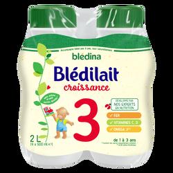 BLEDILAIT 3 croissance de 12 mois à 3 ans Blédina, 4x500ml