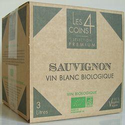 LES 4 COINS CAB SAUVIGNON 3L