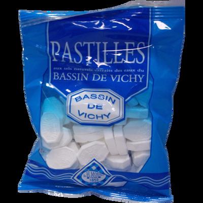 Pastilles du bassin de Vichy menthe MOINET, sachet 150g
