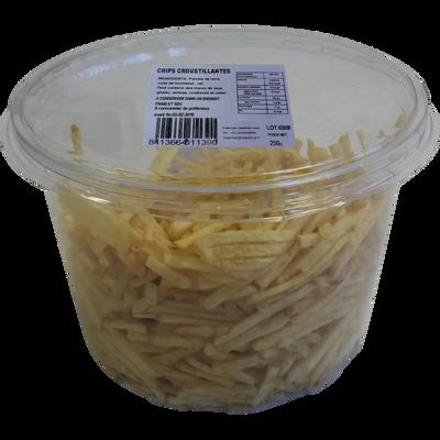 Chips croustillantes TE GUSTA, 250g
