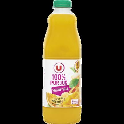 Pur jus multifruits U, bouteille de 1,5l