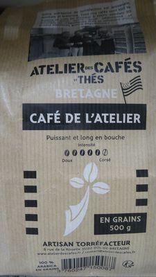 café grains mélange 500gr atelier des cafés